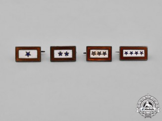 United States. Four Sons in the Service Pins