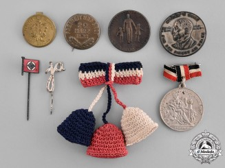 Germany. Sixteen Badges, Pins, and Rings