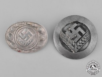 Germany, RAD. Two National Labour Service Badges