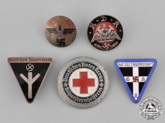 Germany. Five Third Reich Period Badges
