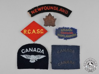 Canada. Six Military Insignia