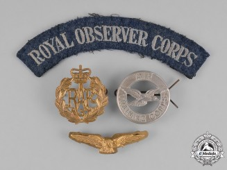 United Kingdom. Royal Air Force Items