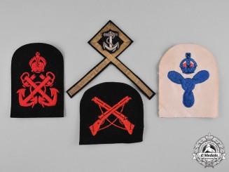 Canada. Fourteen Royal Canadian Navy Patches, c.1942
