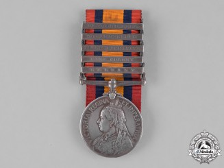 Canada. A Queen's South Africa Medal, to Sergeant Joseph Bradner, Royal Canadian Dragoons