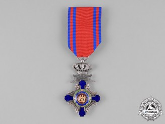 Romania, Kingdom. An Order of the Star of Romania, Knight, Military Division, c.1920