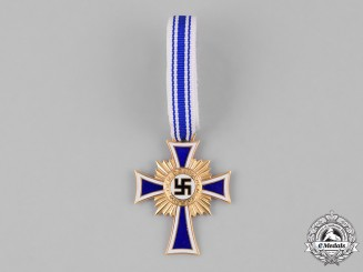 Germany. A Cross of Honour of the German Mother, Gold Grade
