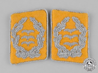 Germany, Luftwaffe. A Set of Flyer's Oberst Collar Tabs