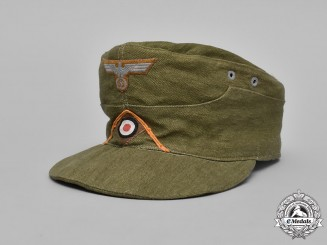 Germany. An Africa Corps Military Police M43 Field Cap