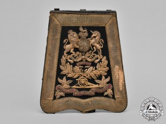 United Kingdom.  A Royal Artillery Officer's Sabretache, c.1885