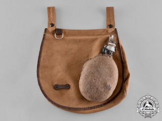 Germany, HJ. A Canteen with Matching Bread-Bag