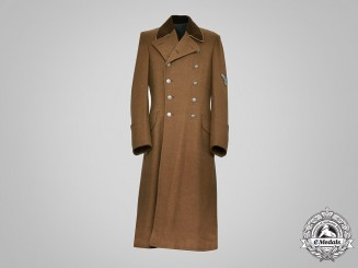 Germany, RMfdbO. A Reich Ministry for the Occupied Eastern Territories (RMfdbO) Officer's Greatcoat