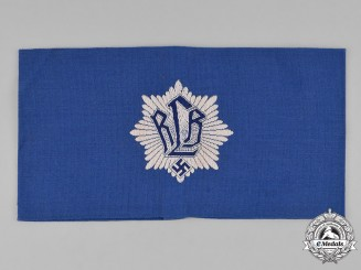 Germany, RLB. An Air Raid Protection League (RLB) Member's Armband