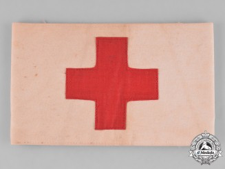 United States, Red Cross. A United States Red Cross Army Medic's Armband