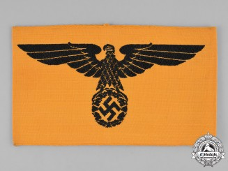 Germany, Wehrmacht. An Armband for a Civilian in Wehrmacht Service