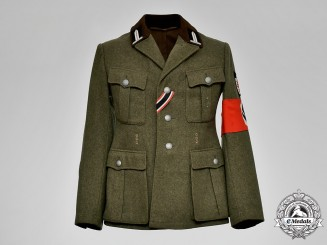 Germany, RAD. A Late Reichsarbeitsdienst (Reich Labour Service) Officer's Tunic