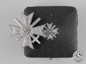 Germany, Wehrmacht. A War Merit Cross First Class with Swords by Kerbach & Oesterhelt, with Case
