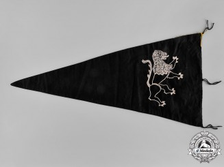 Germany, SS. A 14th Waffen Grenadier Division of the SS (1st Galician) Pennant