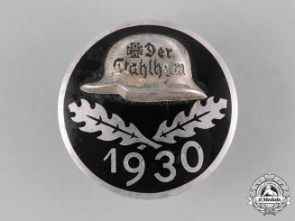 Germany, Weimar. A 1930 Stahlhelm Membership Badge