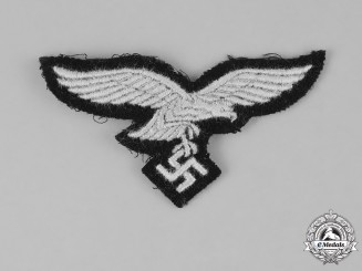 "Germany, Luftwaffe. A 1st Paratroop Panzer Division ""Hermann Göring"" Cap Eagle"
