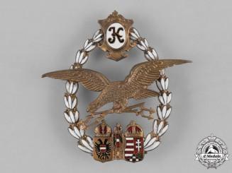 Austria, Empire. An Emperial Austro-Hungarian Pilot Badge, c. 1918