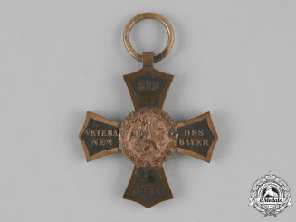 Bavaria, Kingdom. An 1848 Veteran's Cross for Participants of the 1790-1812 Campaigns