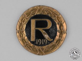 Germany, Weimar. A Crown Prince Rupprecht Cap Badge