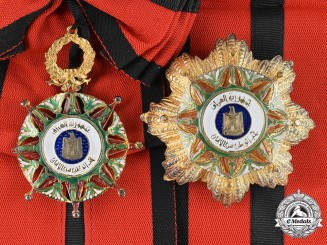 Iraq, Republic. An Order of the Two Rivers, I Class Grand Cross, Civil Division, c.1975