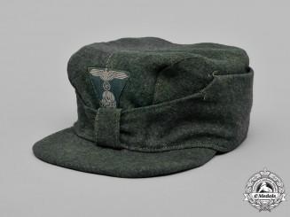 Austria, Waffen-SS. An M43-Style Austrian Waffen-SS Field Cap