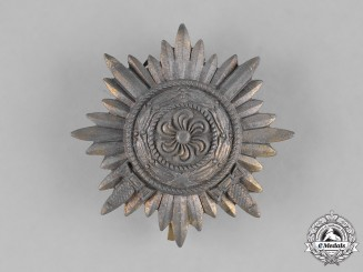 Germany, Heer. A Wehrmacht Heer (Army) Eastern People's Bravery Decoration, First Class with Swords in Gold