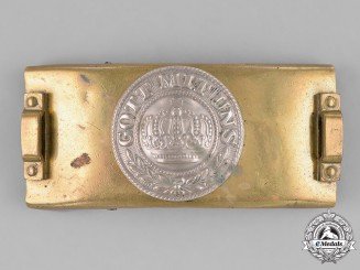 Germany, Empire. A Telegrapher's Belt Buckle, c. 1914