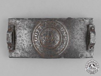 Germany, Empire. A Telegrapher's Belt Buckle, c. 1917