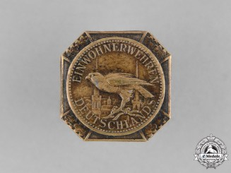 Germany, Weimar. A Citizens' Defence (Einwohnerwehr) Boutonniere Badge