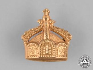 Germany, Imperial. A German State Crown Badge, ca. 1900