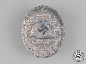 Germany, Wehrmacht. A Would Badge, Silver Grade