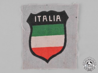 Germany, Wehrmacht. An Italian Volunteer Sleeve Shield