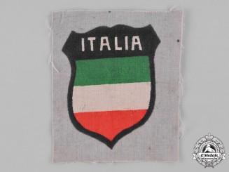 Germany, Wehrmacht. An Italian Volunteer Sleeve Shield
