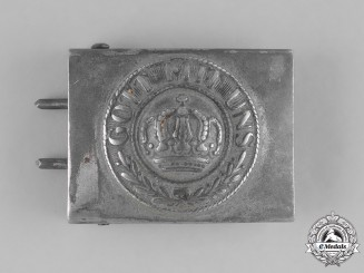 Germany, Empire. A Standard Issue Imperial Army EM/NCO's Belt Buckle