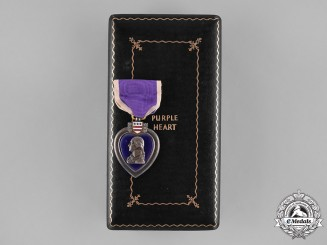 United States. A Silver Purple Heart, 1942
