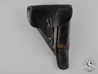 Germany, Third Reich. A Walther P38 Holster by Carl Heinichen