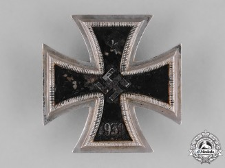 Germany, Wehrmacht. A 1939 Iron Cross I Class by Deschler & Sohn