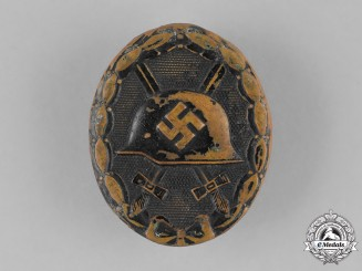 Germany, Wehrmacht. A Second War Wound Badge, Black Grade
