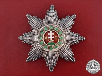Austria-Hungary, Empire. An Order of St. Stephen, Grand Cross Star, c.1900