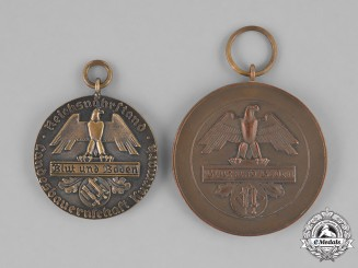 Germany, Reichsnährstand. A Grouping of Two Reichsnährstand Service Medals