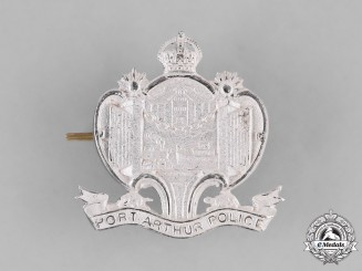 Canada. A Port Arthur Police Cap Badge, c.1945