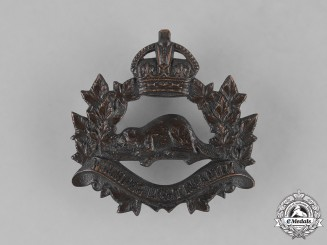 Canada. A Second War Winnipeg Light Infantry (Machine Gun) Cap Badge