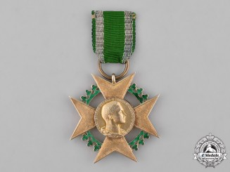 Saxe-Coburg and Gotha, Kingdom. An Honour Cross for Art and Science, 1906-1918 Versin