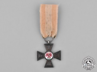 Prussia, Kingdom. A Prussian Order of the Red Eagle, IV Class Cross, Prizen, c.1865
