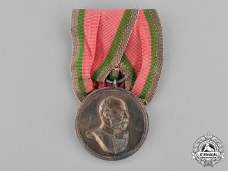 Anhalt, Duchy. A Duke Frederick I of Anhalt Silver Jubilee Medal