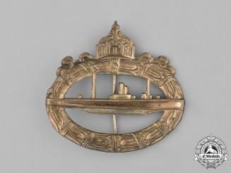Germany, Kaiserliche Marine. A First War Imperial German Submarine Badge, c.1930