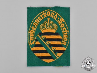 Germany, Weimar. A Stahlhelm Saxony District Sleeve Patch